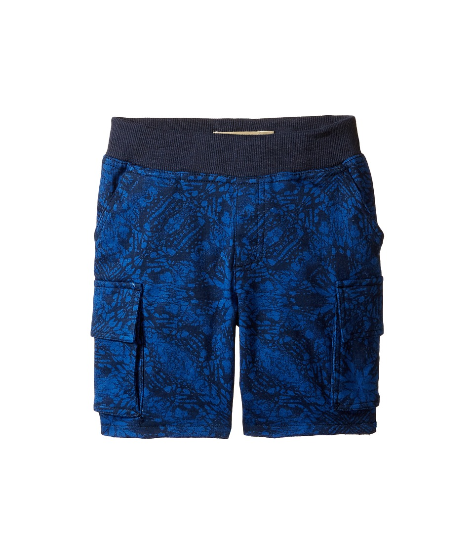 Lucky Brand Kids - Swell Cargo Shorts in French Terry (Toddler) (Black Iris) Boy's Shorts