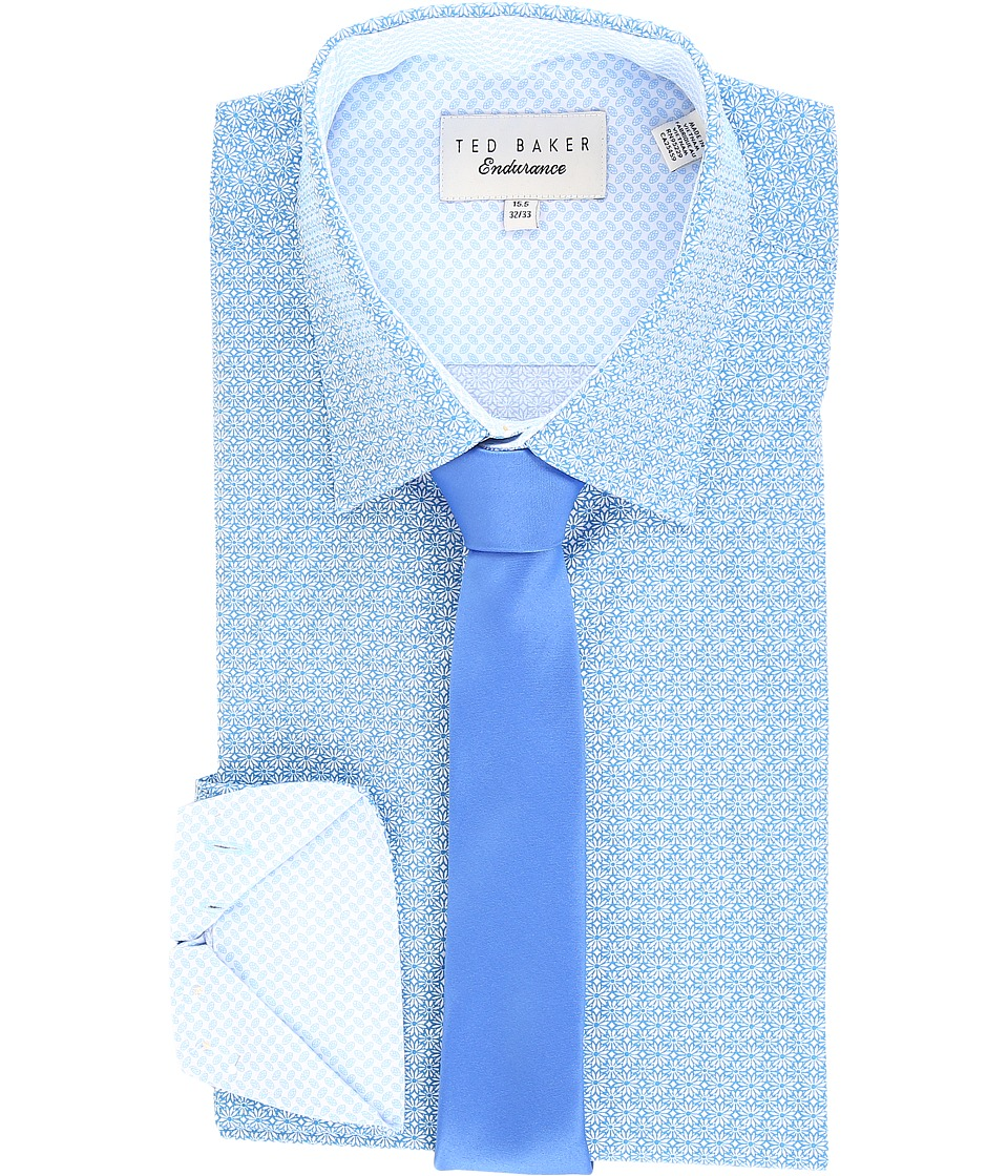 Ted Baker - Titas Endurance Timeless Shirt (Blue) Men's Clothing