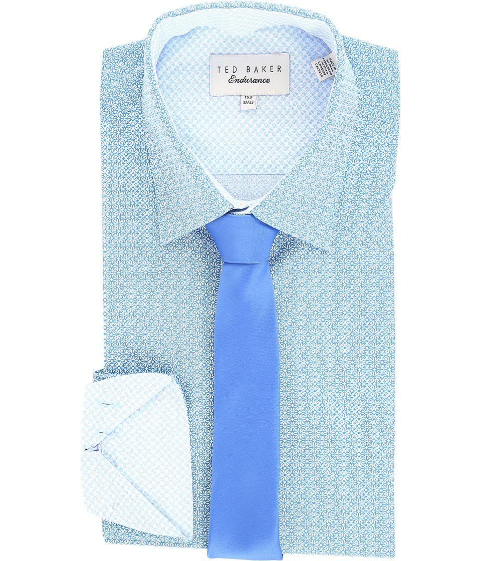 Ted Baker - Titas Endurance Timeless Shirt (Blue) Men's Clothing