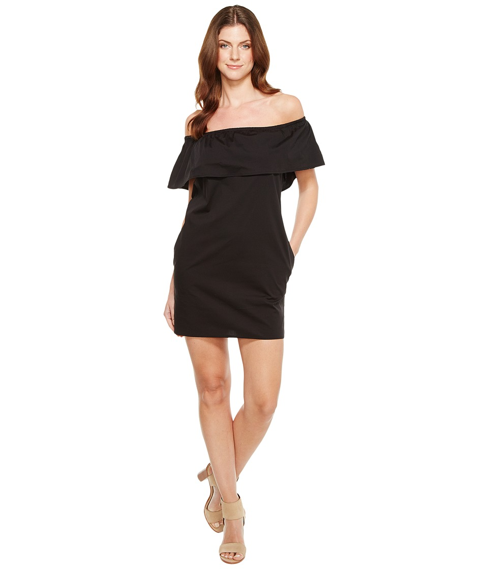 Splendid - Off Shoulder Dress (Black) Women's Dress