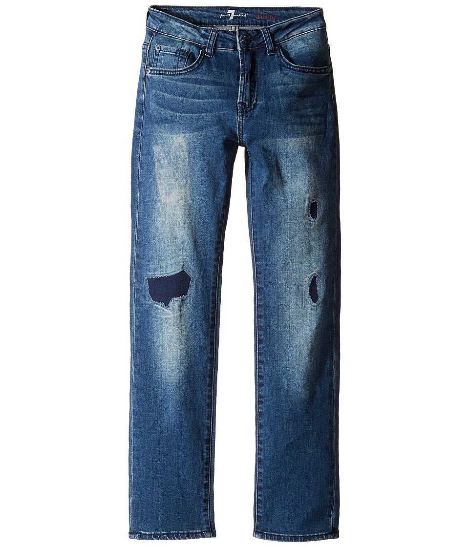 7 For All Mankind Kids Slimmy Jeans in Phoenix Drifter (Big Kids) (Phoenix Drifter) Boy