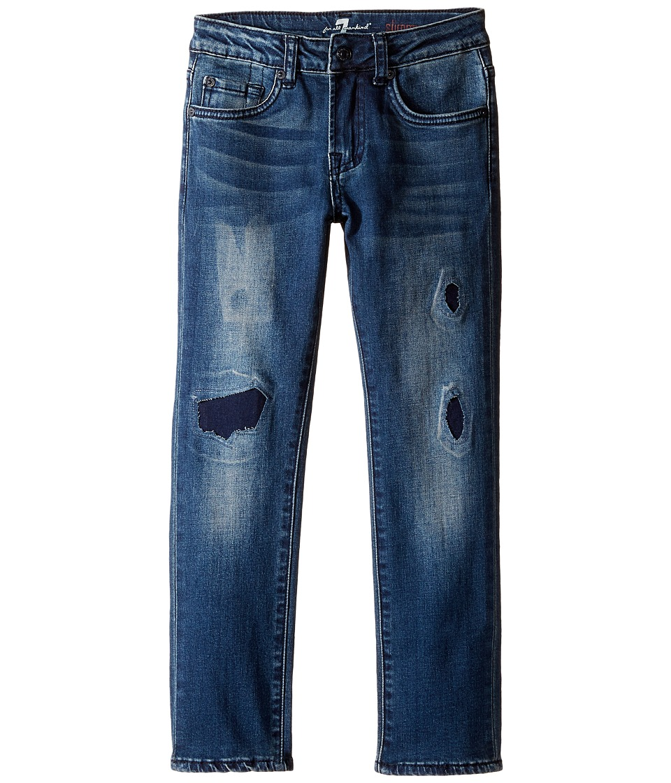 7 For All Mankind Kids Slimmy Jeans in Phoenix Drifter (Little Kids/Big Kids) (Phoenix Drifter) Boy
