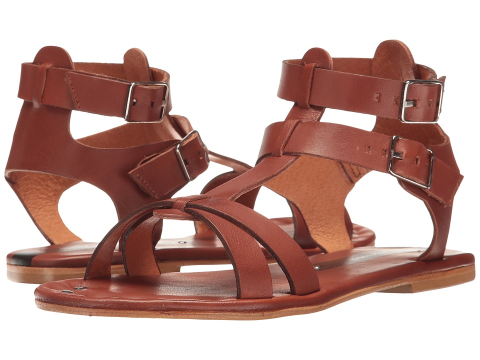 Matt Bernson - KM Gladiator (Bourbon) Women's Sandals