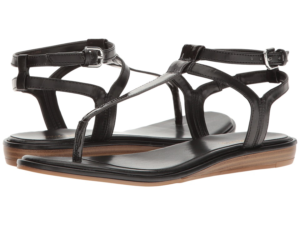 Nine West - Kealna (Black PU) Women's Sandals