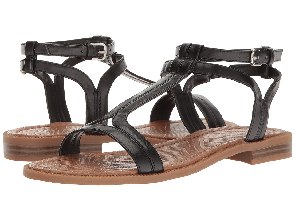 Nine West - Xuan (Black PU) Women's Sandals