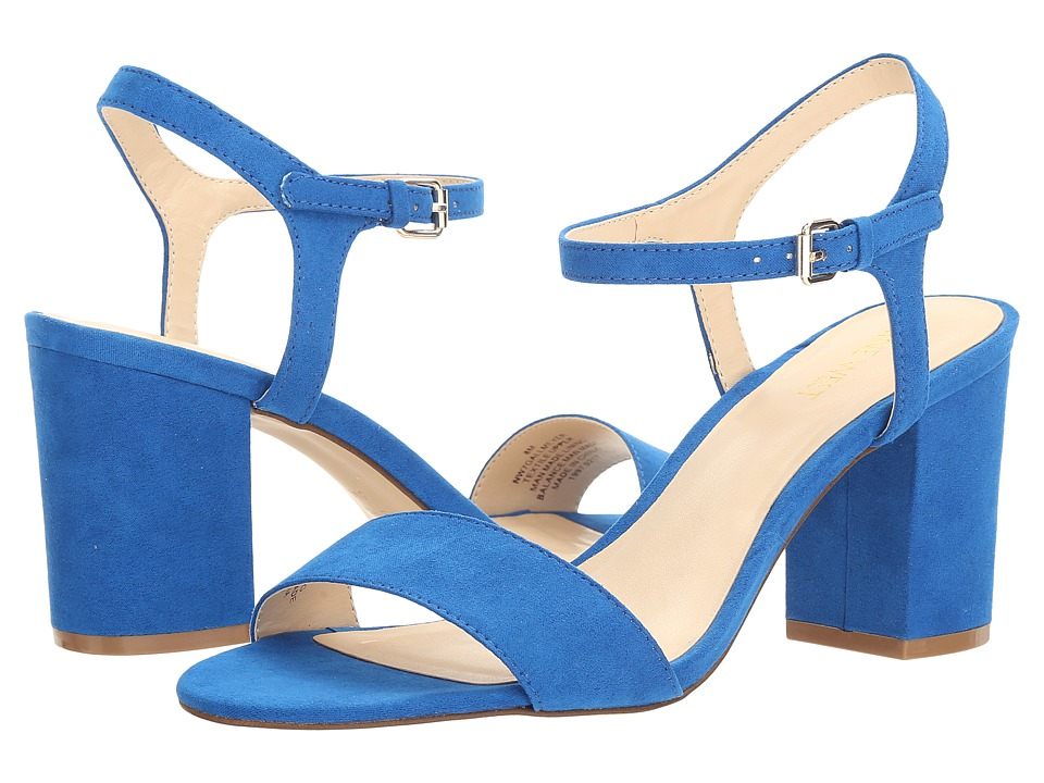 Nine West - Gallmeyer (Electric Blue Suede) High Heels