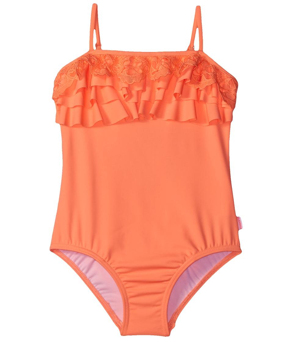 Seafolly Kids - Luau Lu Lu Tank Top (Toddler/Little Kids) (Rockmelon) Girl's Swimwear