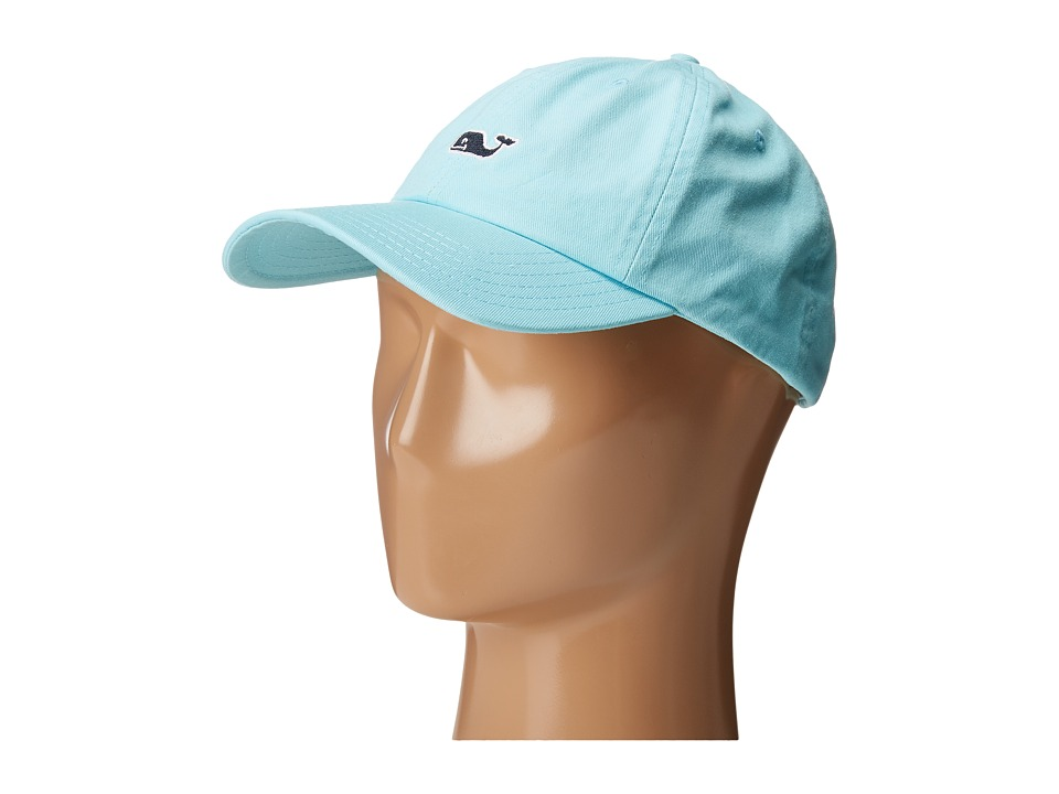 Vineyard Vines - Whale Logo Baseball Hat (Pool Side) Caps