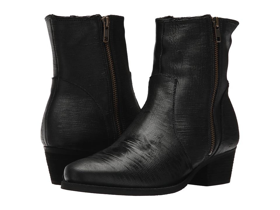 Walking Cradles Giselle (Black Laser Leather) Women