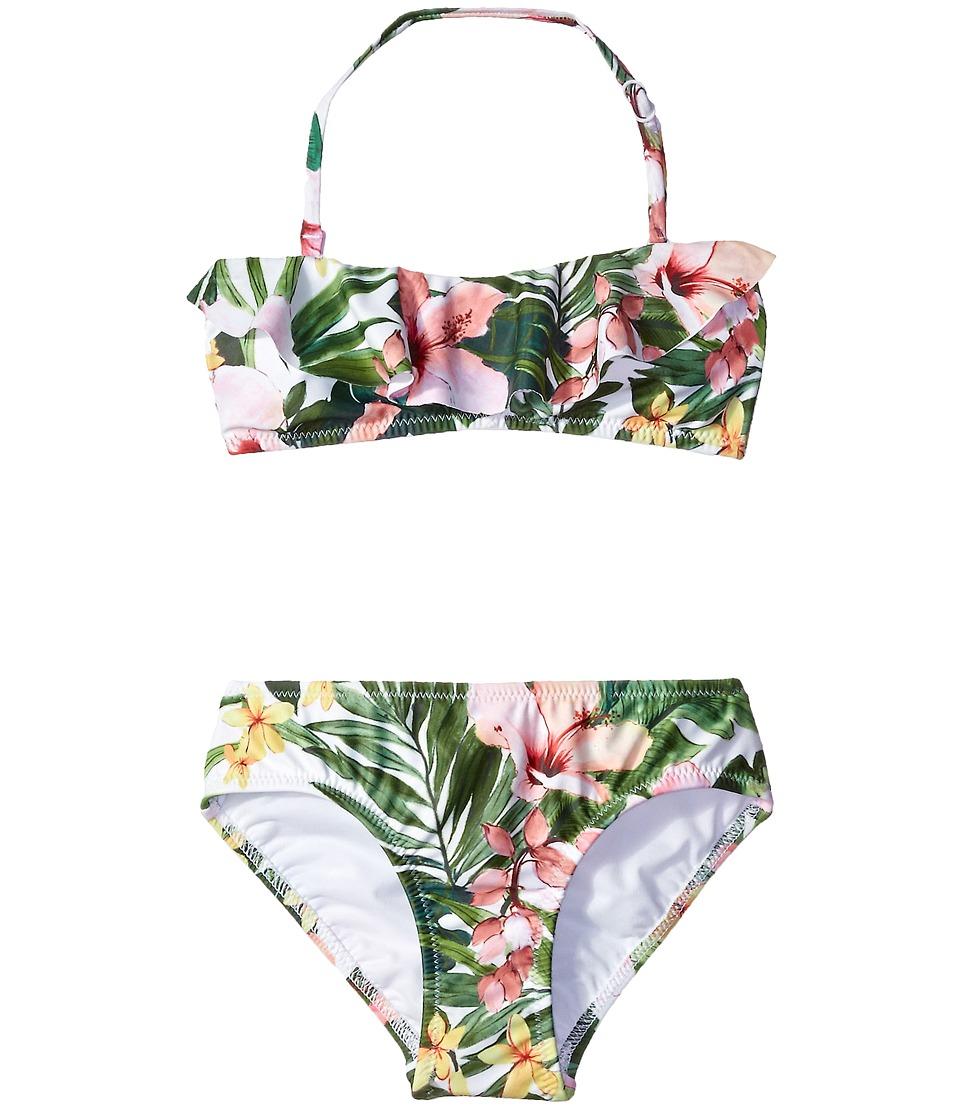 Seafolly Kids - Tropical Mini Tube Bikini (Little Kids/Big Kids) (Multi) Girl's Swimwear