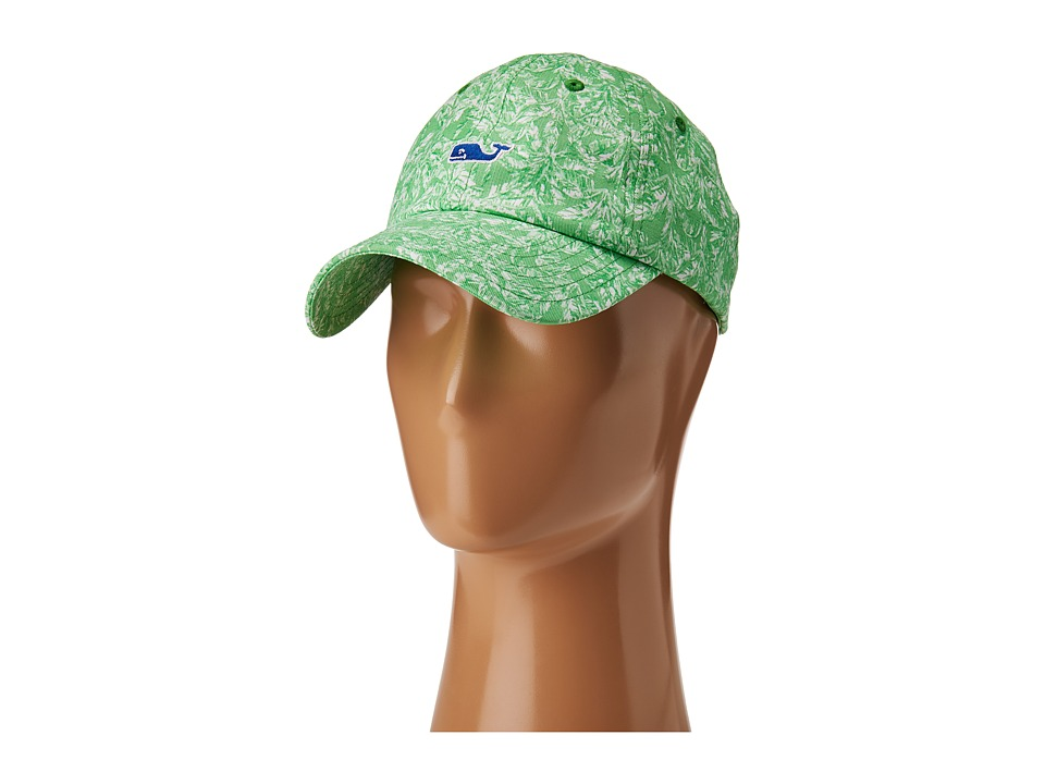 Vineyard Vines - Palm Brights Baseball Hat (Azure Blue) Caps