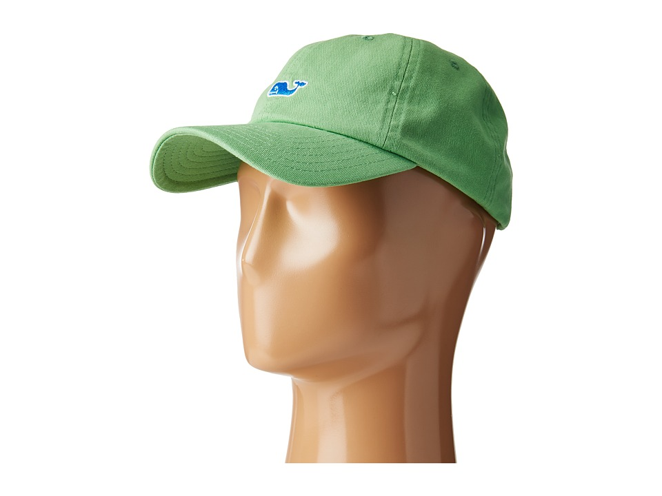 Vineyard Vines - Washed Classic Baseball Hat (Sour Apple) Caps