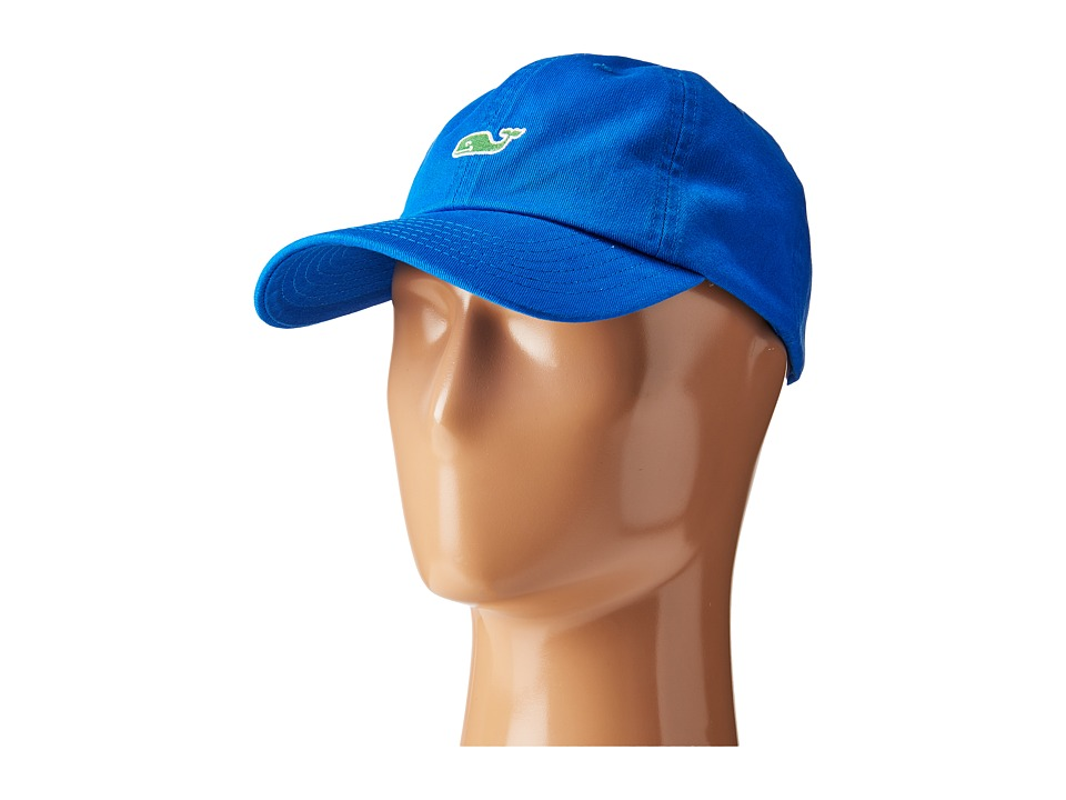 Vineyard Vines - Washed Classic Baseball Hat (Azure Blue) Caps
