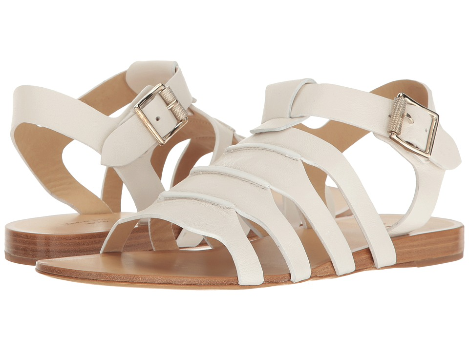 rag & bone - Karli (White Leather) Women's Shoes