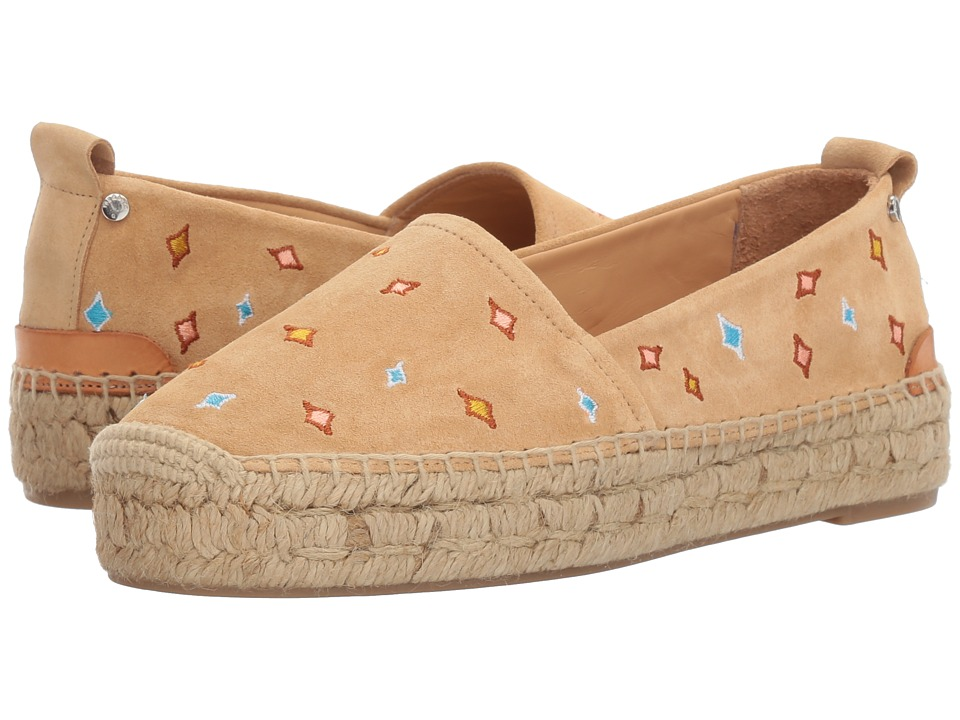 rag & bone - Adria Espadrille II (Dune Embroidered) Women's Shoes