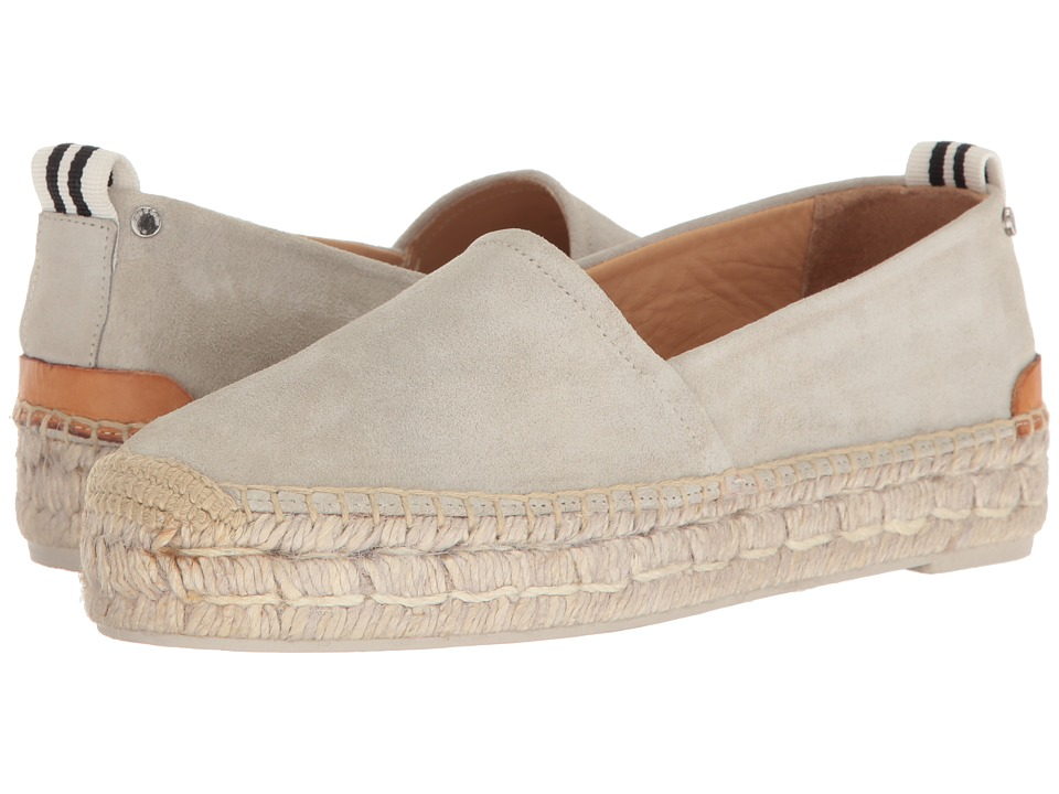 rag & bone - Adria Espadrille II (Off-White Suede) Women's Shoes