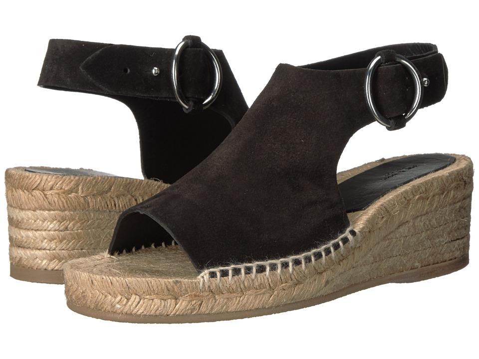 rag & bone - Calla (Black Suede) Women's Shoes