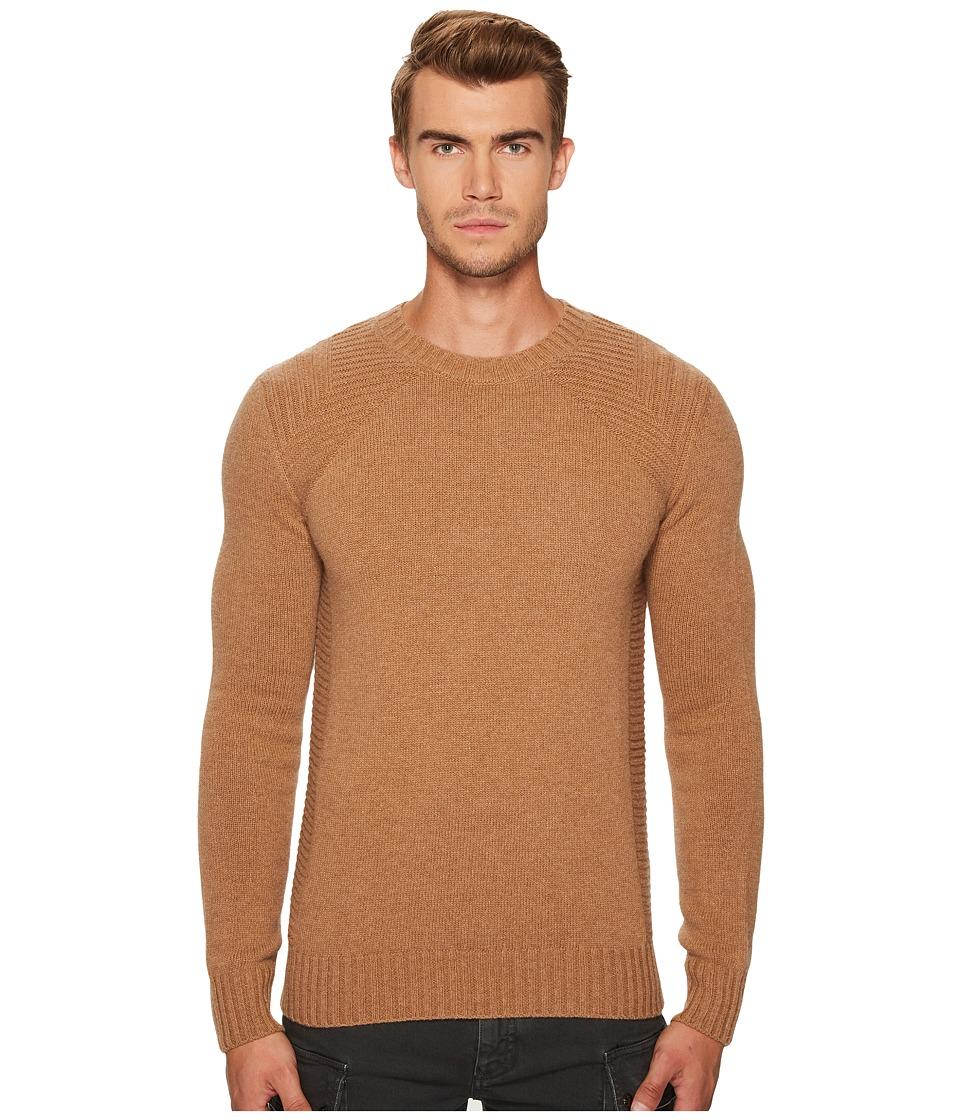 BELSTAFF Lanson Wool Cashmere Sweater (Sepia) Men