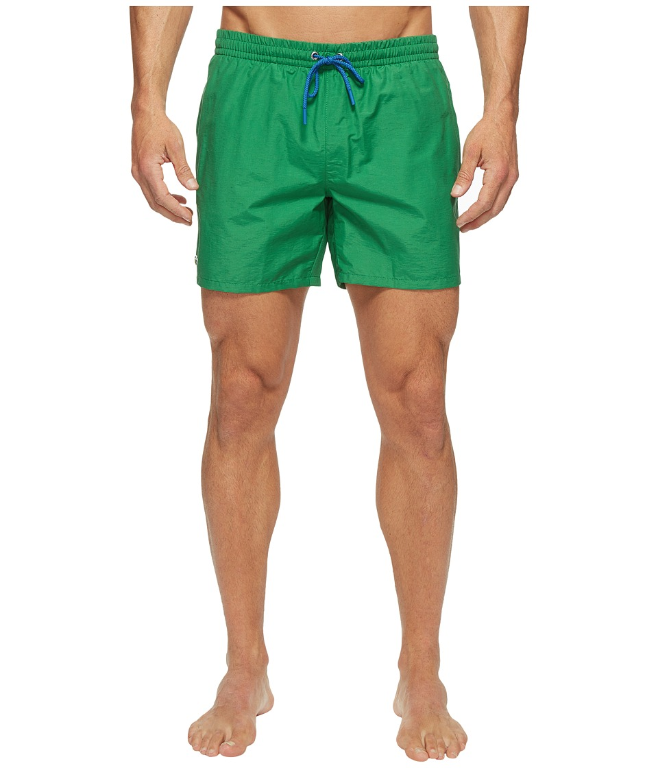 Lacoste - Taffeta Swimming Trunk (Rocket/Sapphire Blue) Men's Swimwear