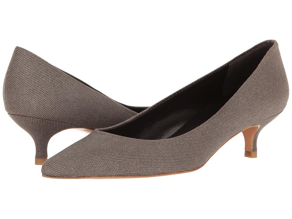 Stuart Weitzman - Poco (Fossil Bead Nappa) Women's Slip-on Dress Shoes