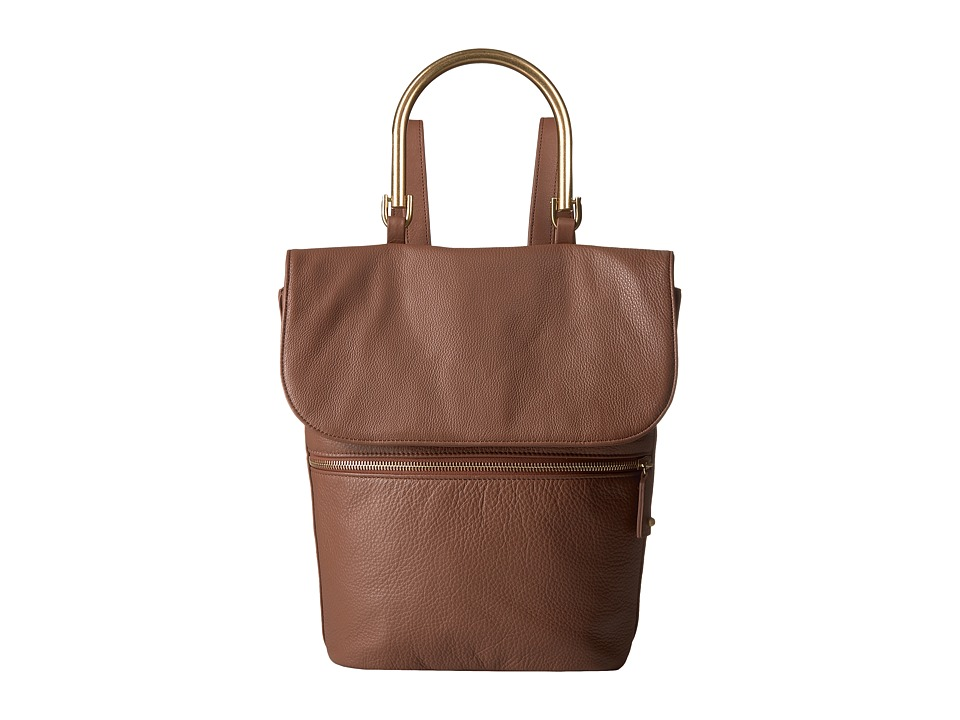 SJP by Sarah Jessica Parker - Oath (Sneak Brown Leather) Handbags
