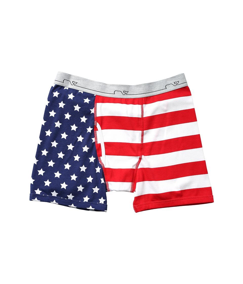 Vineyard Vines - Americana Knit Boxer Brief (Multi) Men's Underwear