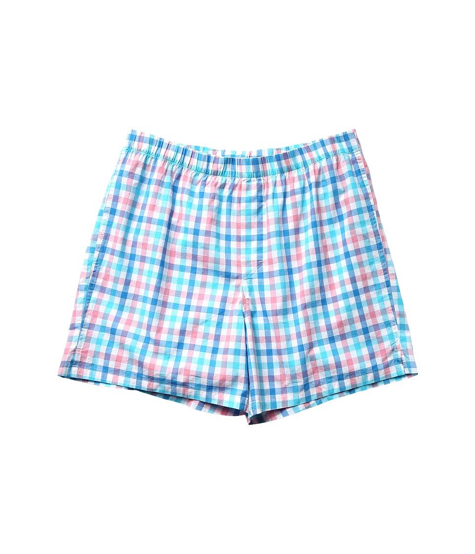 Vineyard Vines - Barnes Bay Plaid Boxer (Seagrove) Men's Underwear