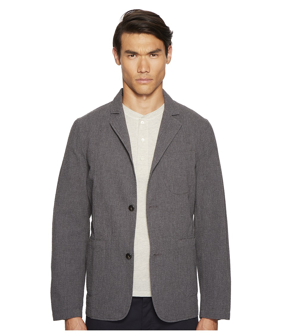 Billy Reid - Luther Jacket (Charcoal) Men's Clothing