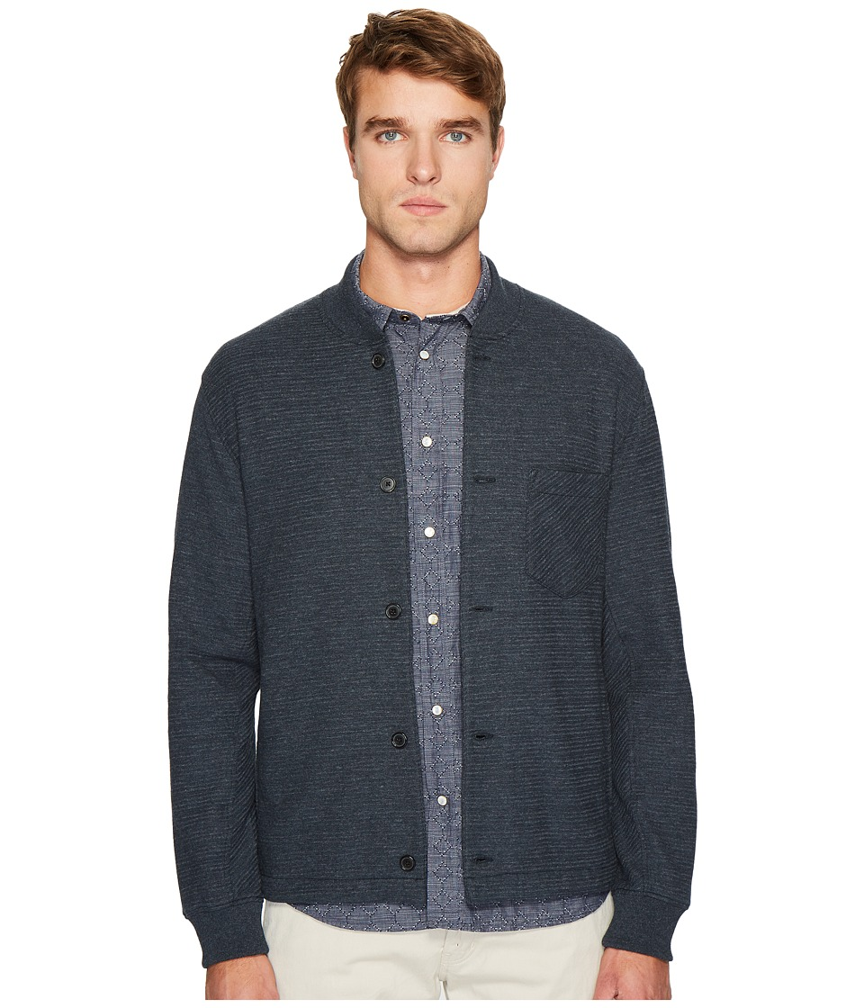 Billy Reid - Henson Shirt Jacket (Carbon Blue) Men's Clothing