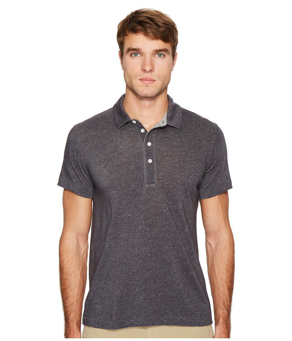 Billy Reid - Grant Polo (Midnight) Men's Clothing