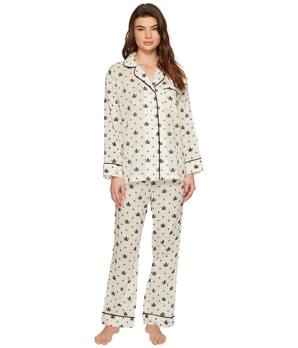 BedHead - Long Sleeve Classic Pajama Set (Queen For A Day) Women's Pajama Sets