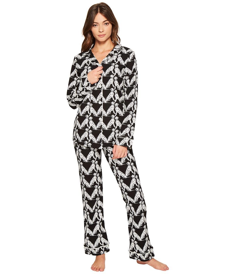 BedHead - Long Sleeve Classic Pajama Set (101 Dalmatians) Women's Pajama Sets