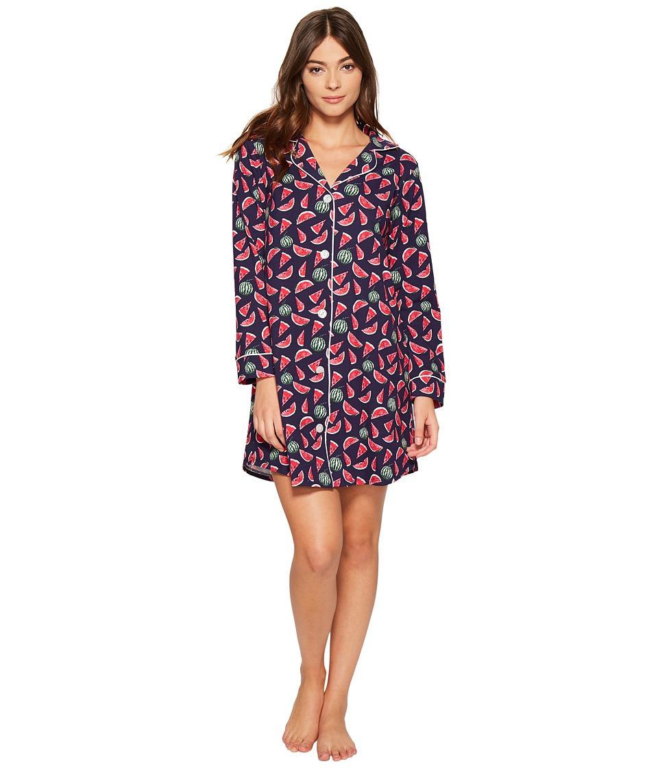 BedHead - Long Sleeve Night Shirt (Taste of Summer) Women's Pajama