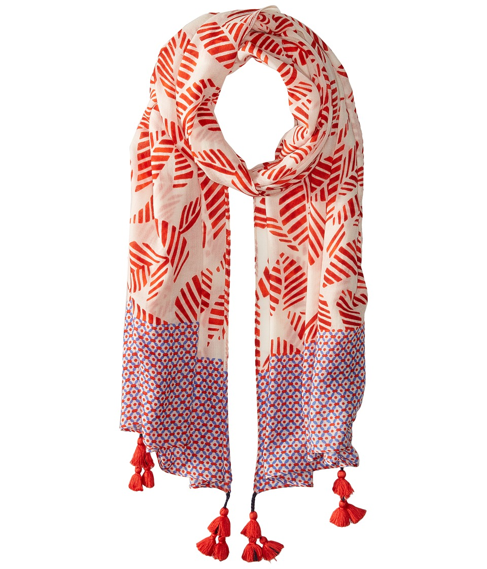 Tory Burch - Palmetto Oblong (Ivory Palmetto/Ochos Rios) Scarves