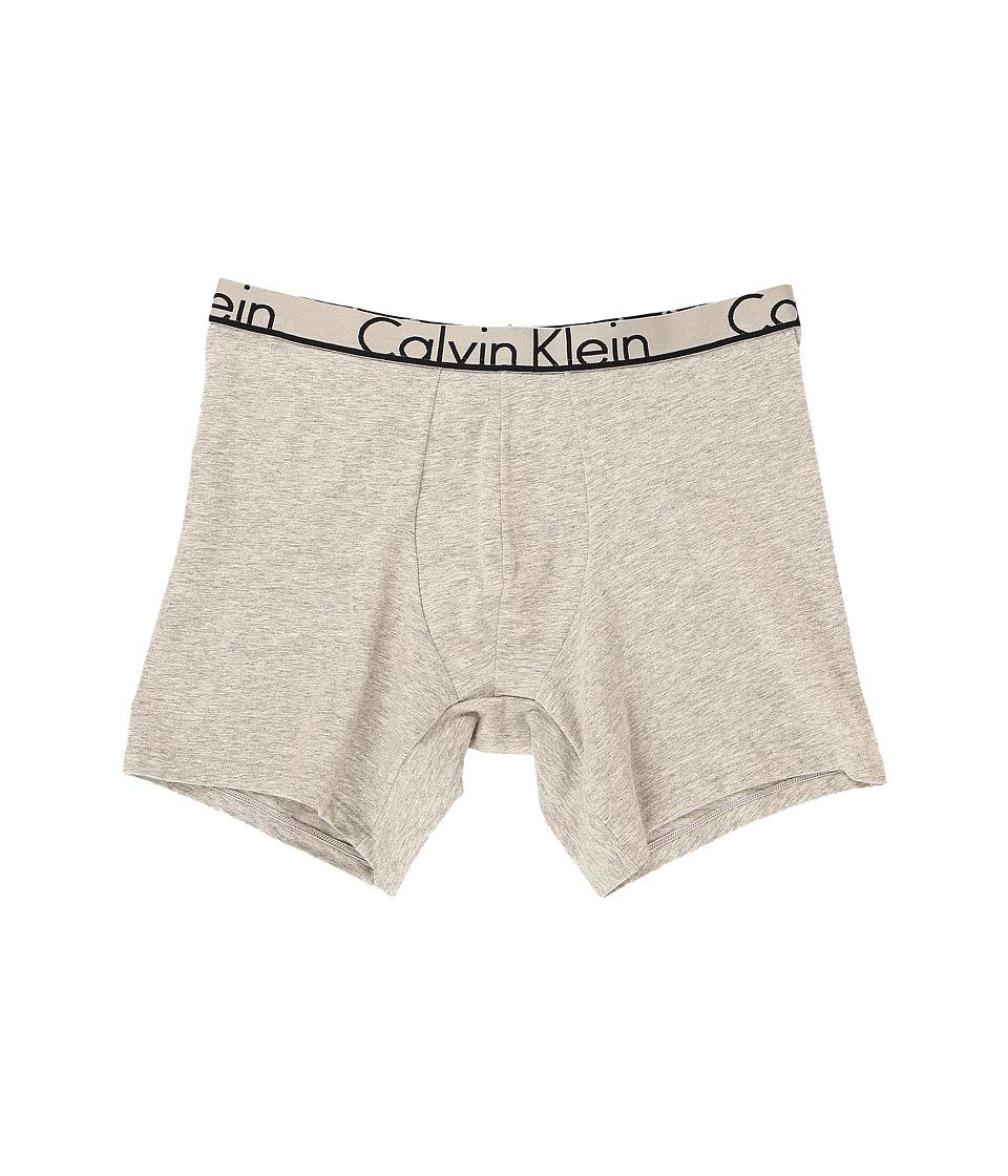 Calvin Klein Underwear - ID Cotton Boxer Brief (Heather Grey) Men's Underwear