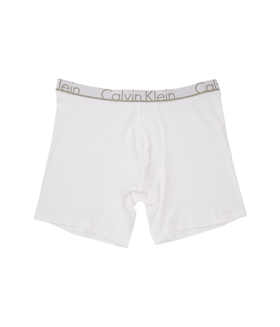 Calvin Klein Underwear - ID Cotton Boxer Brief (White) Men's Underwear