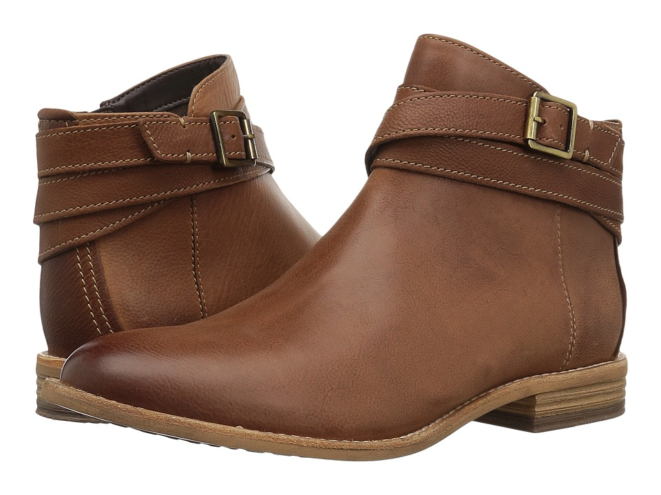 Clarks Maypearl Edie (Dark Tan) Women