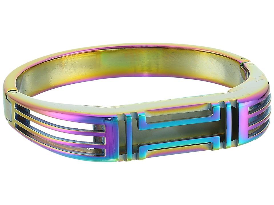 Tory Burch - Fitbit Metal Hinged Bracelet (Metallic Multi Multi/Iridescent) Bracelet