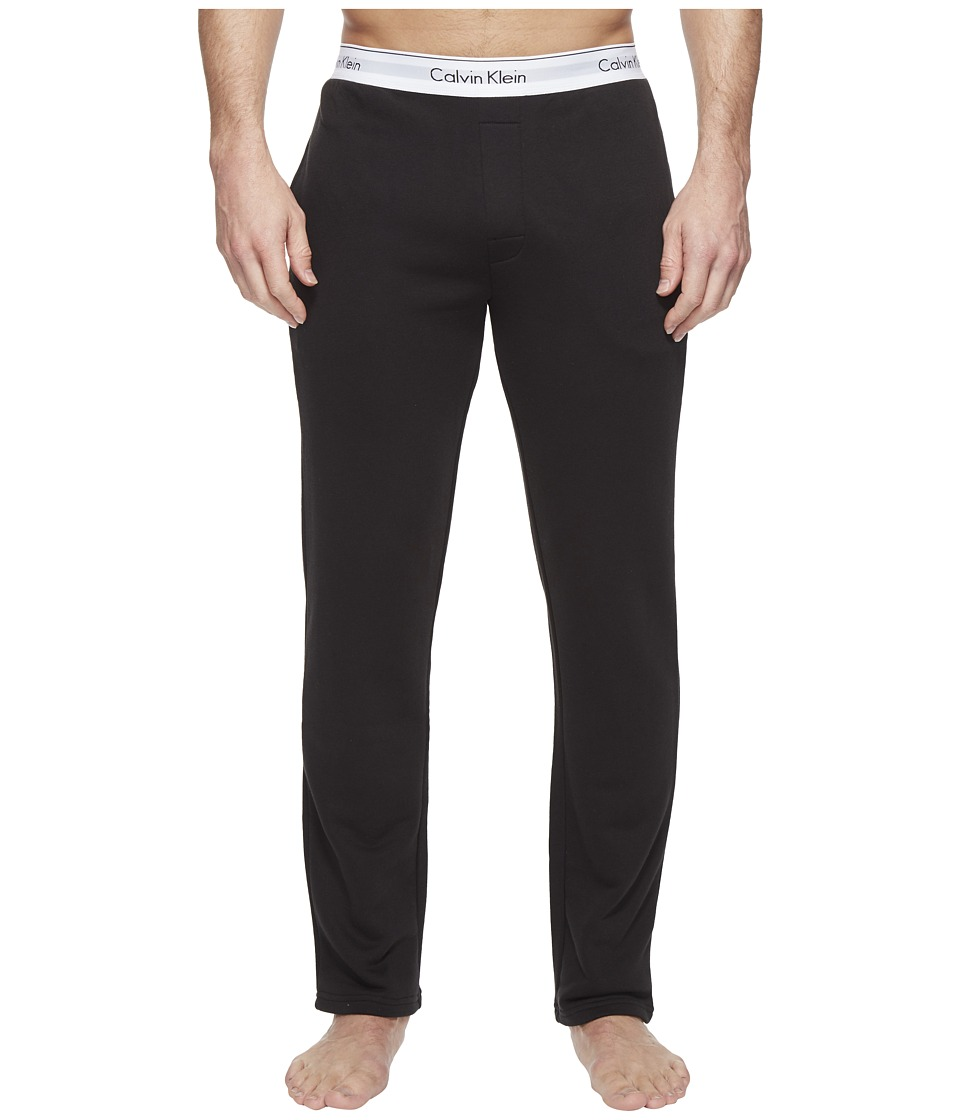 Calvin Klein Underwear - Modern Cotton Stretch Lounge Pants (Black) Men's Casual Pants