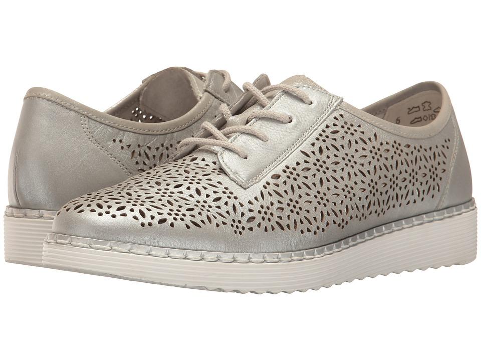 Rieker - D3704 Nuria 04 (Argento/Silber) Women's Shoes