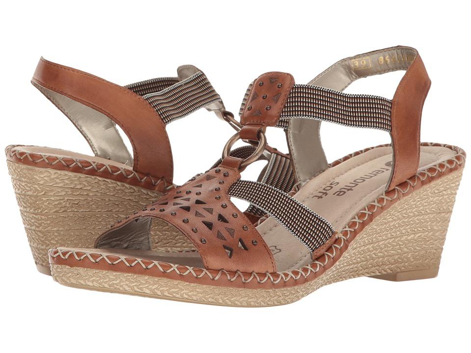 Rieker - D6751 Ursula 51 (Muskat/Terra/Nuss) Women's Wedge Shoes