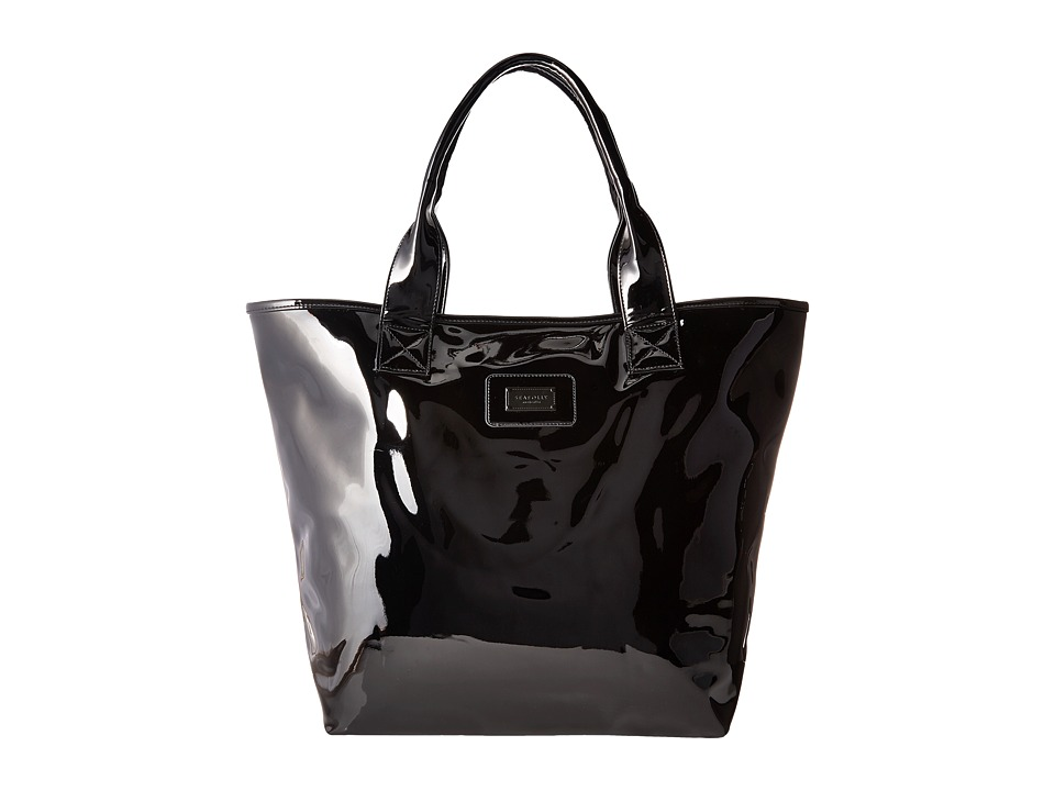 Seafolly - Seafolly Tote (Black) Tote Handbags