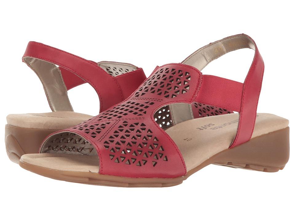 Rieker - R5244 Elea 44 (Rosso) Women's Shoes