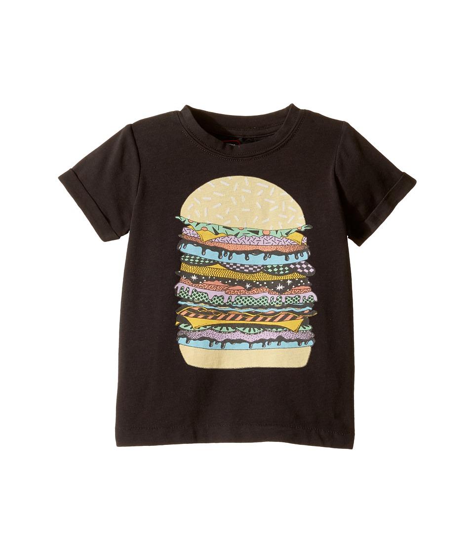 Rock Your Baby - Cosmic Burger Tee (Infant) (Black) Boy's T Shirt