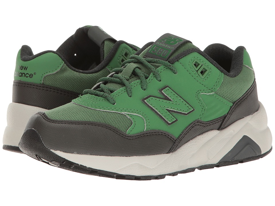 New Balance Kids - KL580 (Big Kid) (Green) Boys Shoes