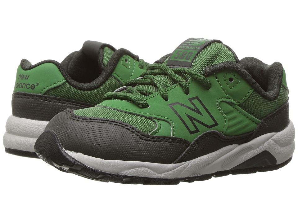 New Balance Kids KL580 (Infant/Toddler) (Green) Boys Shoes