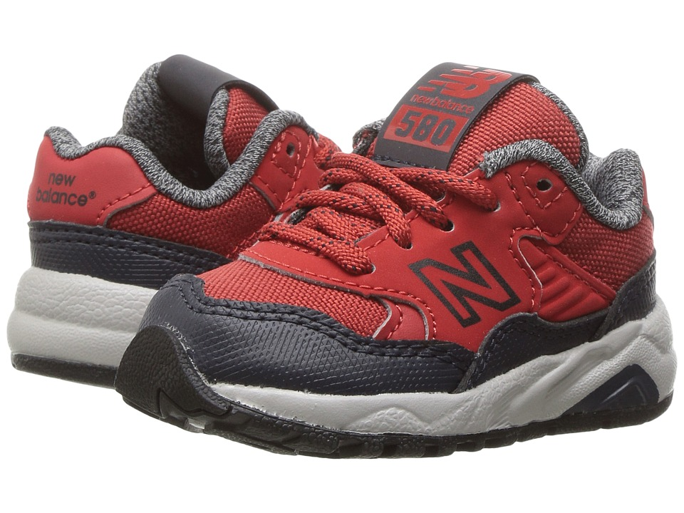 New Balance Kids - KL580 (Infant/Toddler) (Red) Boys Shoes