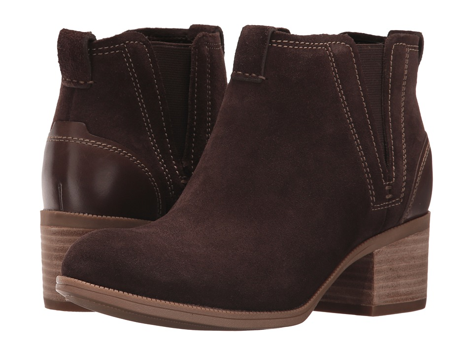Clarks Maypearl Daisy (Dark Brown) Women