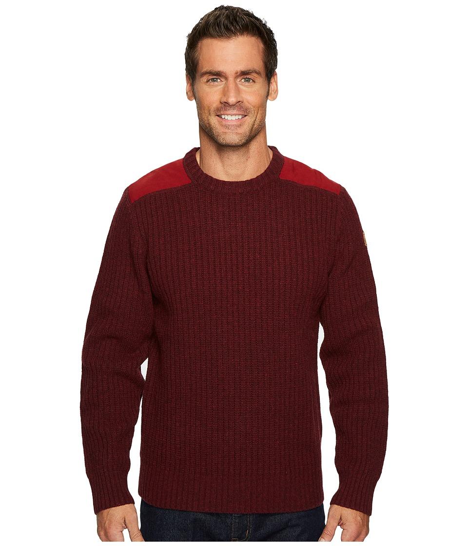 Fjallraven Sarek Knit Sweater (Red Oak) Men