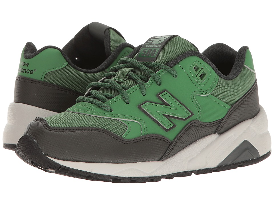 New Balance Kids - 580 (Little Kid) (Green) Boys Shoes